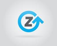 Logo Icon Design Template Element nella lettera di vettore Immagini Stock Libere da Diritti