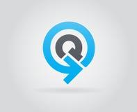 Logo Icon Design Template Element nella lettera di vettore Fotografie Stock Libere da Diritti