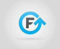 Logo Icon Design Template Element nella lettera di vettore Fotografia Stock