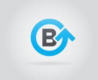 Logo Icon Design Template Element nella lettera di vettore Immagini Stock