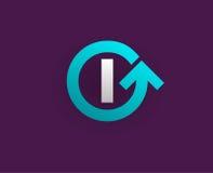 Logo Icon Design Template Element nella lettera di vettore Fotografia Stock Libera da Diritti