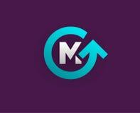 Logo Icon Design Template Element nella lettera di vettore Immagine Stock