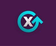 Logo Icon Design Template Element nella lettera di vettore Immagine Stock Libera da Diritti