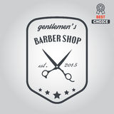 Logo, icon or logotype for barbershop Stock Photos