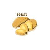 Logo Icon Potato Farm Stock Fotografie