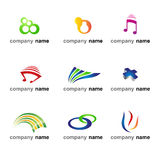 Logo icon set Stock Image