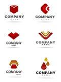 Logo icon set Stock Photography