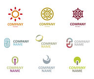 Logo icon set Royalty Free Stock Image