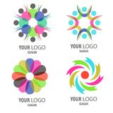 Logo icon set Stock Photos