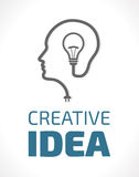 Logo - idé stock illustrationer