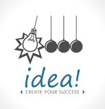 Logo - Idea concept Royalty Free Stock Photo