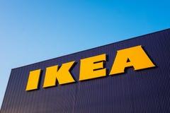 Logo of Ikea store in thailand. stock photos