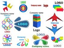 Logo, Illustration 3D Lizenzfreies Stockbild