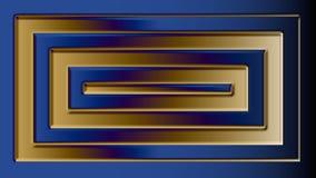 Logo illustration 3d stock illustration