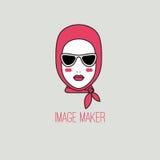 Logo for image maker Royalty Free Stock Photo