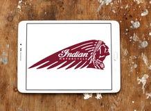 Logo indien de moto Image stock