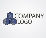 Logo industriel Image libre de droits