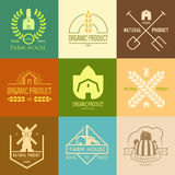 Logo inspiration for shops, companies, advertising or other business. Royalty Free Stock Images