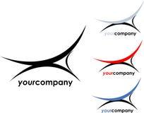 Logo intérieur de compagnie Images libres de droits