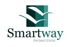 Logo intelligent de voie illustration libre de droits