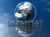 Logo Internet Stock Image