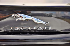 Logo of Jaguar XF Royalty Free Stock Photo