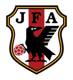 Logo of Japan  football club Stock Photography