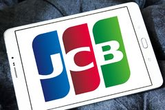 JCB credit card company logo Royalty Free Stock Photography