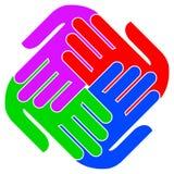 logo jedność Obraz Royalty Free