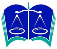 Logo juridique Photographie stock