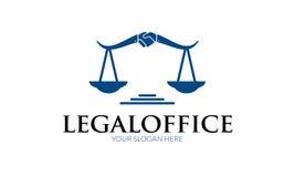 Logo juridique de bureau Images libres de droits