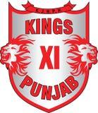 Logo Könige XI Punjab Stockfotos