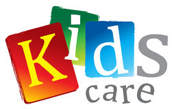 Logo kids Royalty Free Stock Photography