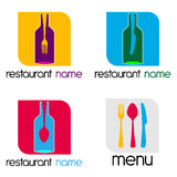 Logo - Menu Stock Photo