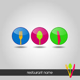 Logo - Menu Royalty Free Stock Images