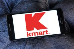 Kmart store chain logo Royalty Free Stock Photos