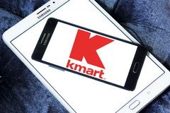 Kmart store chain logo Royalty Free Stock Photo