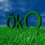 Logo ÖKO Royalty Free Stock Photography