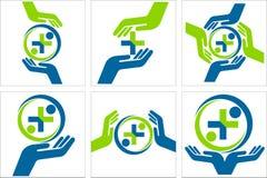 Logo kolekcja Obrazy Stock