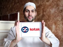Kotak Mahindra Bank logo Stock Photos
