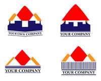 Logo à la maison Photographie stock libre de droits