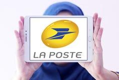 Logo La Postes Frankreich Stockbilder