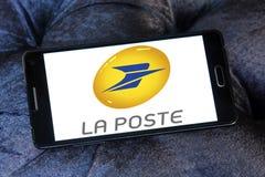 Logo La Postes Frankreich Stockbild
