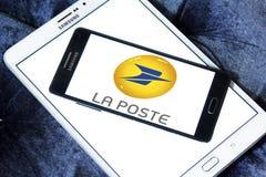 Logo La Postes Frankreich Stockfotos