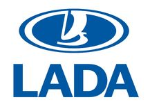 Logo Lada vektor illustrationer