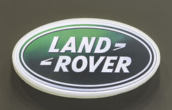 Logo of Land Rover Royalty Free Stock Images