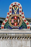 The logo of the LCDR from the first Blackfriars Railway Bridge Royalty Free Stock Images