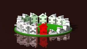 Logo leader real estate Stock Photos