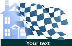 Logo leader real estate Stock Image