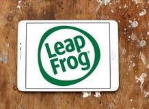 LeapFrog Enterprises logo. Logo of LeapFrog Enterprises on samsung tablet. LeapFrog is an educational entertainment and electronics company royalty free stock image